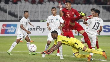 (GALERI FOTO) Kemenangan Timnas Indonesia atas Timor Leste di Piala AFF 2018