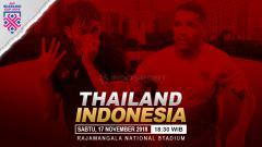 Indosport - Prediksi pertandingan Thailand vs Indonesia