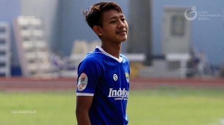 Pemain Persib Bandung U-19 Beckham Putra Nugraha. - INDOSPORT