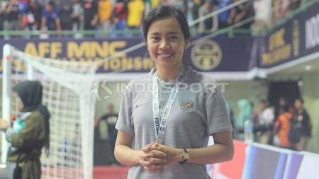 dokter timnas futsal Indonesia,  Karisa Kartika Sukotjo. - INDOSPORT