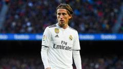 Indosport - Luka Modric, playmaker Real Madrid.