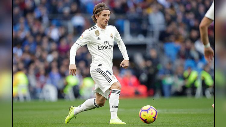 Luka Modric, playmaker Real Madrid. Copyright: Getty Images