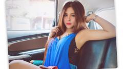 Indosport - Ring Girl MMA, Thya Sethya.