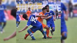 Pertandingan Persib Bandung U-19 vs Borneo FC U-19 di Liga 1 U-19 2018.