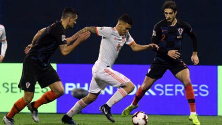 Kroasia vs Spanyol di UEFA Nations League - INDOSPORT