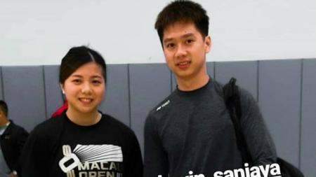 Pebulutangkis putri Macau, Ng Weng Chi, yang mencuri perhatian setelah mengunggah foto ucapan ulang tahun ke Kevin Sanjaya, sibuk bikin konten mukbang. - INDOSPORT