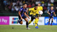 Indosport - Timnas Kamboja berhasil menyingkirkan Malaysia di SEA Games 2019.