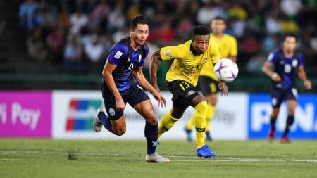 Timnas Kamboja berhasil menyingkirkan Malaysia di SEA Games 2019. - INDOSPORT