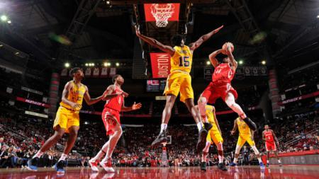 Golden State Warriors vs Houston Rockets. - INDOSPORT