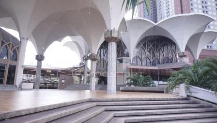 Masjid tempat Timnas Indonesia sholat Jumat