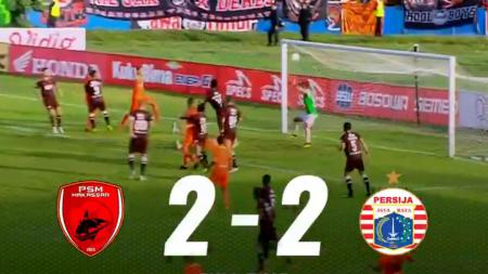 PSM Makassar vs Persija Jakarta - INDOSPORT