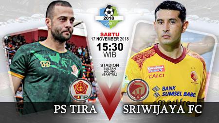 Pertandingan PS TIRA vs Sriwijaya FC. - INDOSPORT