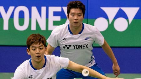 Badminton Association of Malaysia (BAM), menunjuk bintang bulutangkis Korea Selatan, Lee Yong-dae, untuk membantu latihan ganda putra jelang Olimpiade 2020. - INDOSPORT