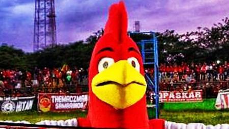 Maskot PSM Makassar. - INDOSPORT