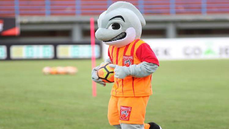 Maskot Borneo FC, Orca. Copyright: Borneo FC