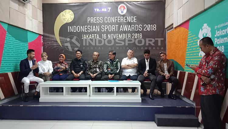 Konferensi pers Indonesian Sport Awards 2018 Copyright: Shintya Maharani/INDOSPORT