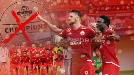 Tiga hal yang bisa membatalkan Persija Jakarta jadi juara Liga 1 2018. - INDOSPORT