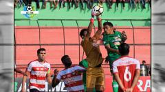 Indosport - PSMS Medan vs Madura United