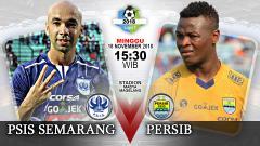 Indosport - Pertandingan PSIS Semarang vs Persib bandung.