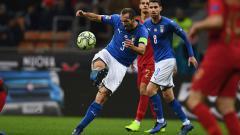 Indosport - Timnas Italia harus membayar mahal kemenangan atas Swiss di babak penyisihan grup A Euro 2020 usai salah satu bintangnya, Giorgio Chiellini mengalami cedera.
