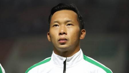 Kiper Bhayangkara Solo FC dan Timnas Indonesia, Awan Setho Raharjo mengatakan akan memboyong keluarganya ke Kota Solo. - INDOSPORT