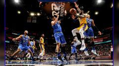 Indosport - Orlando Magic vs LA Lakers
