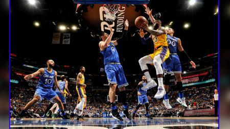 Orlando Magic vs LA Lakers - INDOSPORT