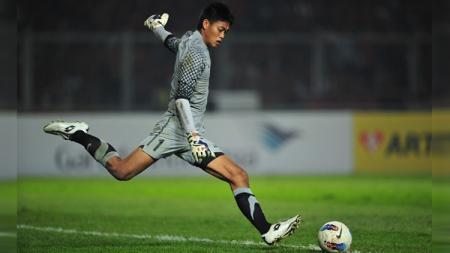 Begini kabar mantan kiper Timnas Indonesia dan Arema FC, Kurnia Meiga Hermansyah. - INDOSPORT