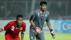 Indosport - Mantan kiper Timnas Indonesia Kurnia Meiga Hermansyah.