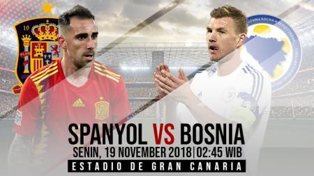 Prediksi pertandingan Spanyol vs Bosnia dan Herzegovina - INDOSPORT