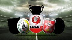Indosport - Empat tim yang akan ke semifinal Liga 2
