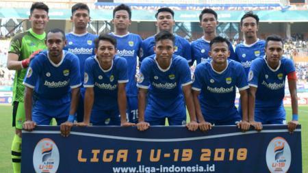 Skuat Persib Bandung U-19 di Liga 1 U-19 musim 2018. - INDOSPORT