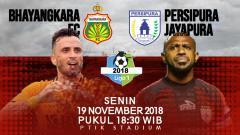 Indosport - Prediksi pertandingan Bhayangkara FC vs Persipura Jayapura