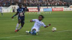 Indosport - PSIS Semarang vs Persib Bandung. dalam lanjutan laga Liga 1 pekan ke-31.