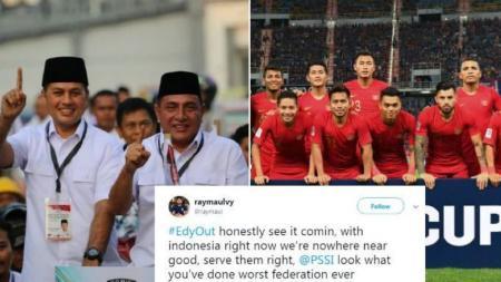 Edy Rahmayadi dan polemik dalam sepak bola Indonesia - INDOSPORT