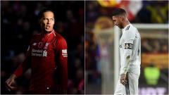 Indosport - Van Dijk menyindir Ramos dengan mengatakan bahwa ia bukanlah bek terbaik