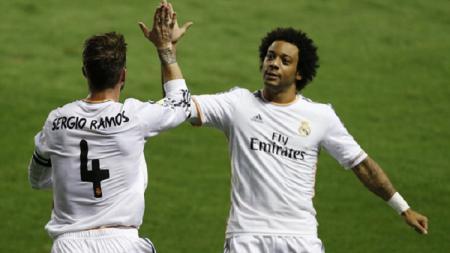 Marcelo merasa hutang budi terhadap Sergio Ramos. - INDOSPORT