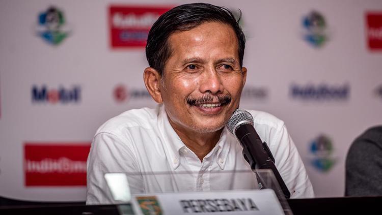 Pelatih Persebaya, Djajang Nurdjaman. Copyright: Media Persebaya