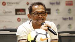 Indosport - Pelatih Persela Lamongan, Aji Santoso.