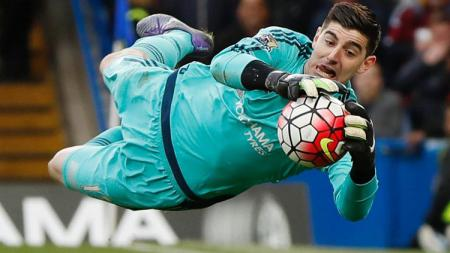 Thibaut Courtois, kiper Real Madrid - INDOSPORT