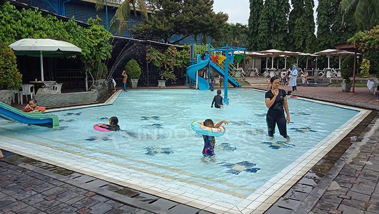 Situasi kolam renang di Cilanda Sport Centre Copyright: Shintya Anya Maharani/INDOSPORT