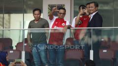 Indosport - Gubernur Jakarta Anies Baswedan nonton laga Persija vs Persela di GBK.