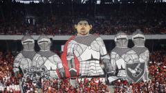 Indosport - Koreografis dari Jakmania di GBK