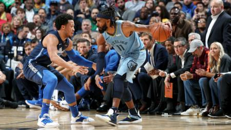 Dallas Mavericks vs Memphis Grizzlies - INDOSPORT