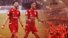Indosport - ilustrasi Persija Jakarta juara Liga 1