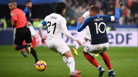 Perancis vs Uruguay - INDOSPORT
