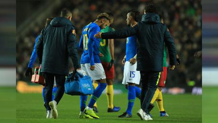 Brasil vs Kamerun - INDOSPORT
