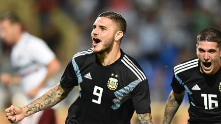 Mauro Icardi tak ada dalam skuat Timnas Argentina untuk Copa America 2019. - INDOSPORT