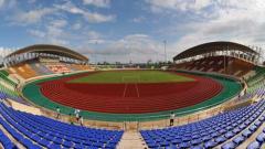 Indosport - Stadion Nasional Laos.
