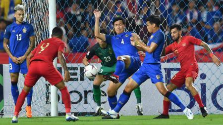 Thailand vs Timnas Indonesia. - INDOSPORT